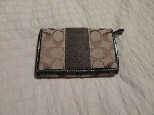 Brown Coach purse and wallet  for sale West Island Greater Montréal image 2