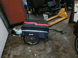 Bike or scooter trailer