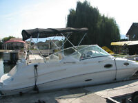 "Searay Express Cruiser  ""MOORAGE PAID FOR THE SUMMER ! """