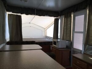 Tent Top Travel Trailer for Rent