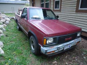 1991 Chevrolet Sonoma Pickup Truck