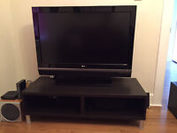 """LG 42"""" LCD Flatscreen with TV stand"""
