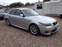 2007 57 BMW 5 SERIES 2.0 520D M SPORT 4D AUTO 161 BHP DIESEL