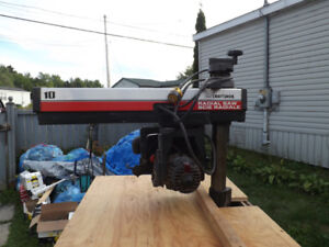 """Craftsman 10""""Radial arm Saw with Cabinet $ 80.00"""
