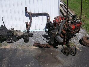 moteur transmission différentiel mopar 318