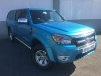 2009 59 Ford Ranger 2.5TDCi 4x4 ThunderD/CAB PICK UP WITH REAR CANOPY FULL L T H