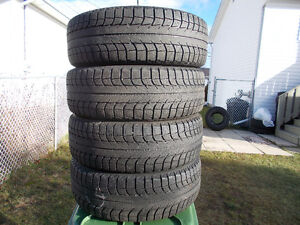 p225/65/17 inch Michelin X Ice Winter Tires / GOOD DEAL