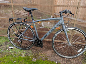Apollo Exceed 20 flat bar road bike hybrid commuter