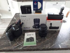 caméra canon 7D