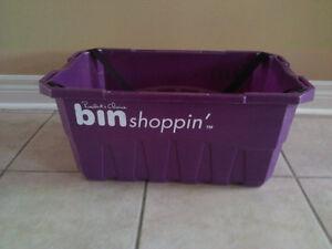 Reusable shopping tote bin London Ontario image 4