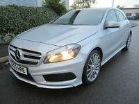 Mercedes-Benz A180 1.5CDI ( 109ps ) BlueEFFICIENCY 2013MY AMG Sport Silver FSH