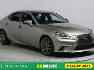 2014 Lexus IS 250 AWD FSPORT TOIT OUVRANT NAVIGATION