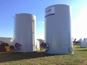 Farm Diesel Fuel Storage Tanks