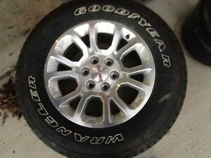GMC rim with new rubber