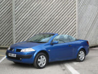 2005 RENAULT MEGANE 1.6 VVTi EXTREME CONVERTIBLE - ONLY 58000 MILES !!