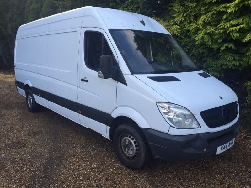 Mercedes sprinter 311cdi lwb 4.2m high moterway miles