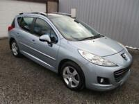 2010 Peugeot 207 SW 1.6 HDi 90 Sport 5dr diesel estate 5 door Estate