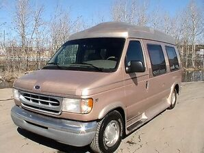 1998 Ford E-150 Turtle Top Van Conversion Low Low Miles, Mint