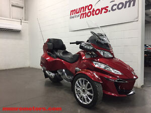 2015 CAN-AM Spyder RT Limited Touring SE6 Loaded