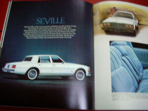 1979 Cadillac sales brochure Peterborough Peterborough Area image 6