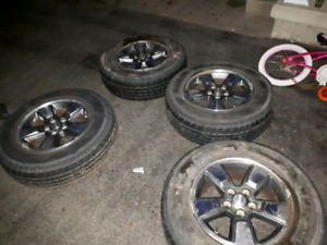 Liberty wheels and tires