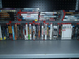lots of playstation 3 games