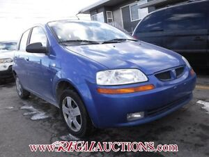 2008 PONTIAC WAVE BASE 4D HATCHBACK BASE