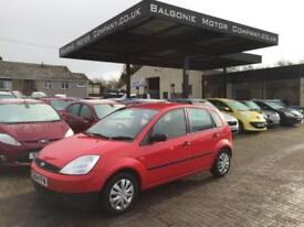 2004 Ford Fiesta 1.25 Finesse 5dr