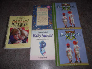 5 brand new baby and child care books for $5