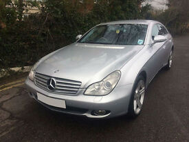 2007 Mercedes-Benz CLS320 CDi Diesel 7G-Tronic Silver Full Service History