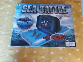 Sea Battle Strategy Game