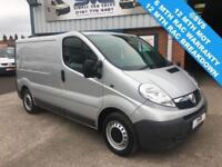 2014 63 VAUXHALL VIVARO 2.0 SWB LOW ROOF FULL SERVICE HISTORY STUNNING CONDITION