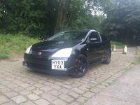 Quick sale cheap 2003 Honda Civic type r £2450 ovno