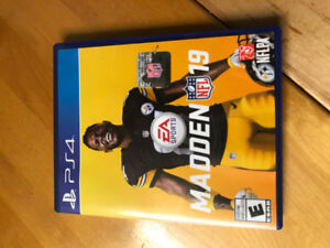 MAdden 19 for PS4 - Only played twice