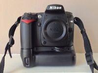 Nikon D D90 12.3 MP Digital SLR Camera - Black - Battery Grip - Very low Shutter NO OFFERS PLEASE