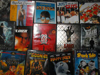 DVDS for sale 3 dollars each 2 for 5 or take whole lot for 20