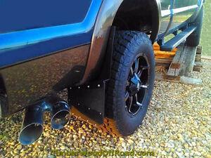Universal Black Mud Flaps- powder coated  marine aluminum Regina Regina Area image 2