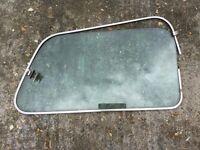 Classic mini rear door glass Inc frame