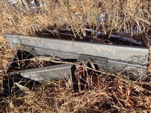 8' Heavy duty 4-way Tractor Front loader blade -replaces bucket