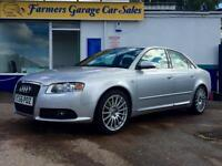 Audi A4 2.0T FSI Special Edition 220 2006 S Line In Silver