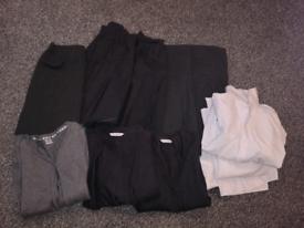 Age 9-10 grey uniform girls bundle