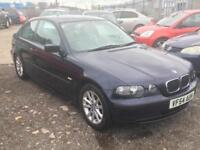 2005/54 BMW 316 1.8 ti ES Compact LONG MOT EXCELLENT RUNNER HPI CLEAR