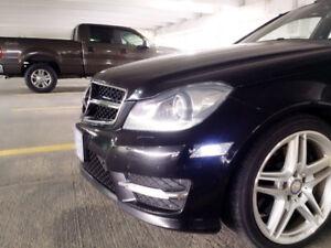 2013-Mercedes Benz C350 4MATIC PANO AMG PKG AWD KEYLESS GO  18''