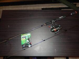 Canne à pêche à lancer léger Quantum NEUVE à vendre