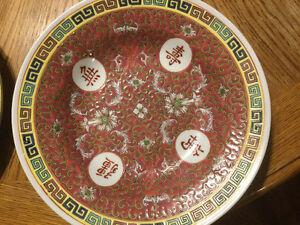 Chinese China dishes