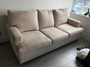 Couch and matching chair - must go ASAP
