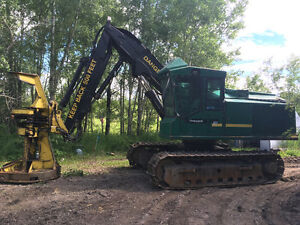 Clean 850 timber jack buncher