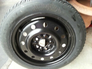 Spare tire with 5 holes rim - T135 /TOR 15 99 M Kitchener / Waterloo Kitchener Area image 3