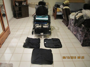 "Almost New Maple Leaf ""SuperTilt"" Wheel Chair & Accessories 2013"
