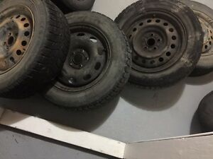 Tires and Steel rims